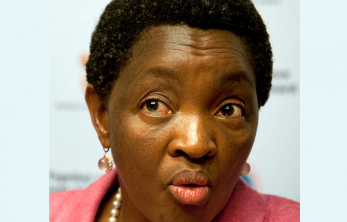'The minister has come to learn of allegations that there was an exchange between officials from her office and eNCA reporters. A claim is being made by the eNCA that an official of the ministry asked them to leave