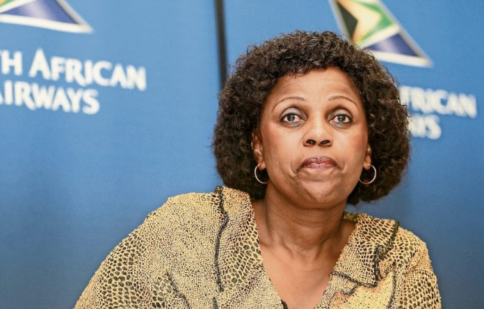 SAA chair Dudu Myeni.