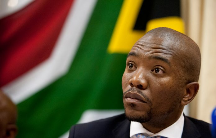 Mmusi Maimane said the DA would take the water to another community that needed it.