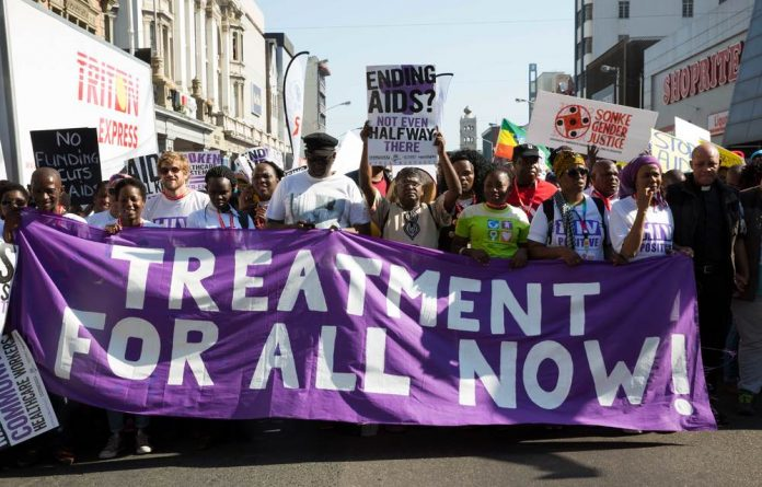 Ahead of the opening of the AIDS Conference