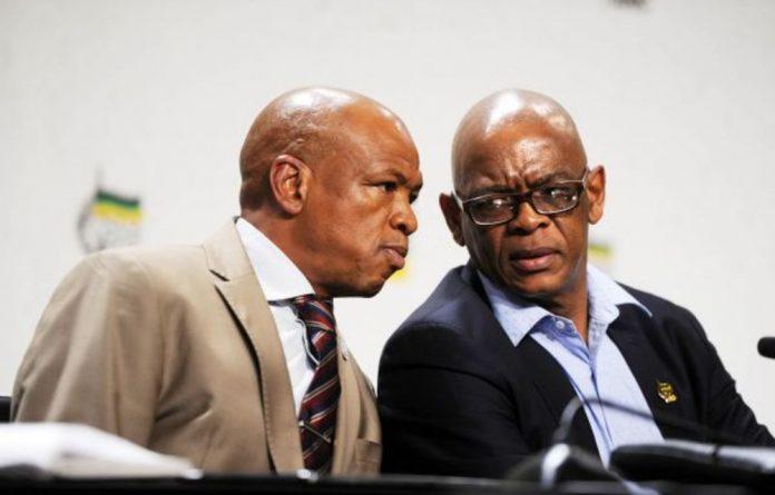 Secret affair: Ex-premiers Supra Mahumapelo