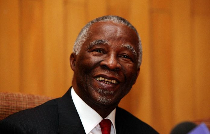 Former president Thabo Mbeki.