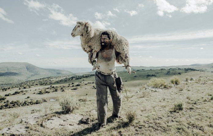 Stocktaking: Ezra Mabengeza plays the part of John Kepe