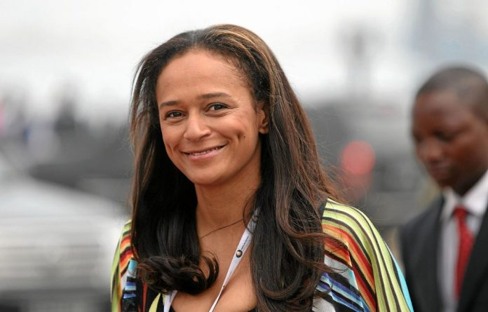 Isabel dos Santos is the daughter of Angola's president
