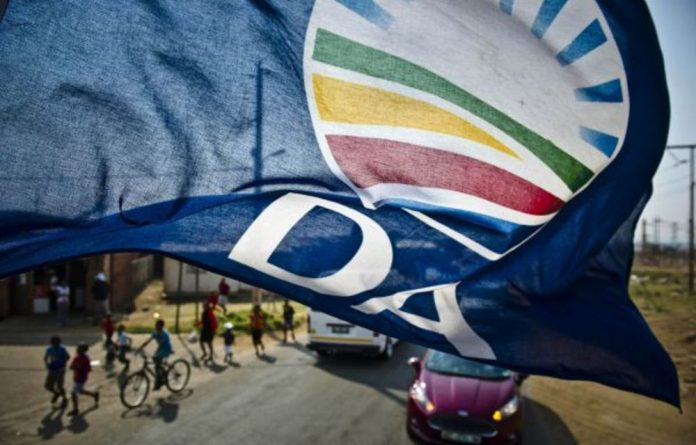 The Democratic Alliance is flying its flag in Gauteng