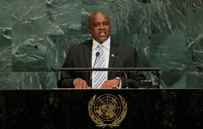 Mokgweetsi Masisi is the scion of an upper-class political dynasty.