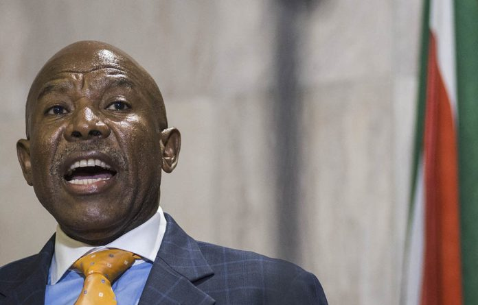 Reserve Bank governor Lesetja Kganyago. The bank has dramatically reduced its economic growth forecasts for the coming year.