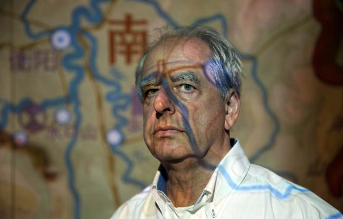 Artist William Kentridge during his exhibition