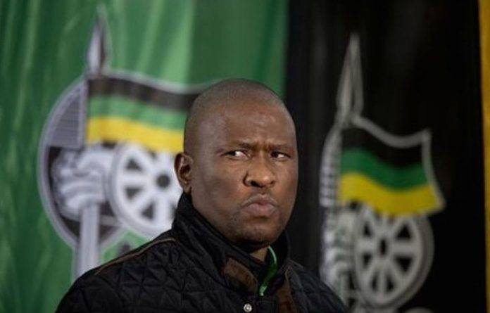 Mabuyane accepted the nomination after a violent brawl between his and Masualle's supporters