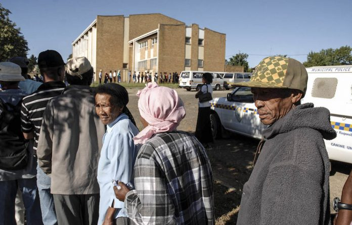 Lifeline: A huge number of South Africans are dependent in some way on people who receive a social grant.