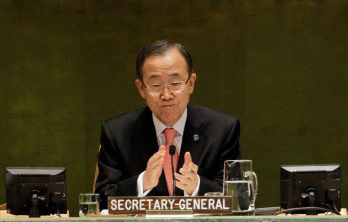 United Nations secretary general Ban Ki-moon has received a black belt in the Korean martial art