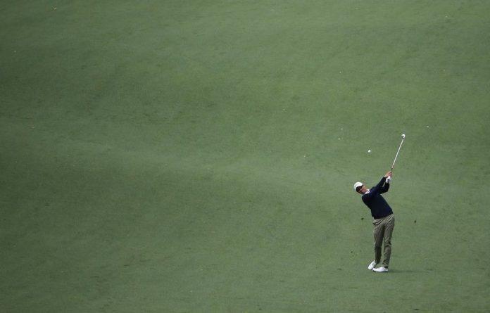 Adam Scott at the US Masters 2014 in Augusta