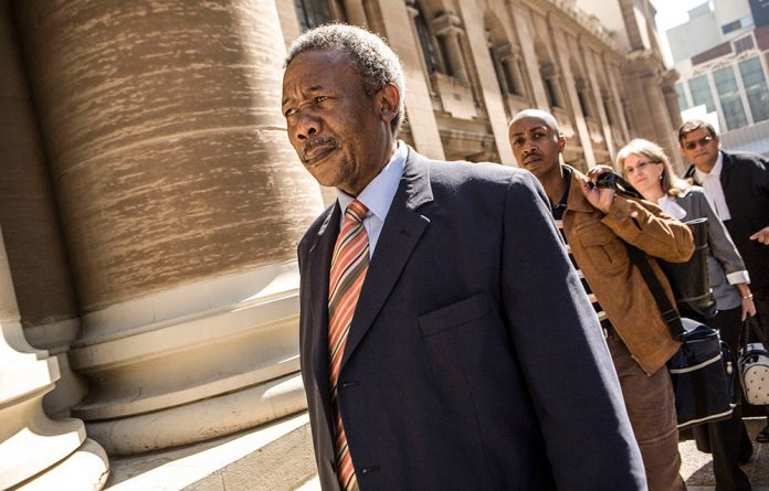 Thabo Mbeki tried to prohibit or delay the arrest of former police boss Jackie Selebi.