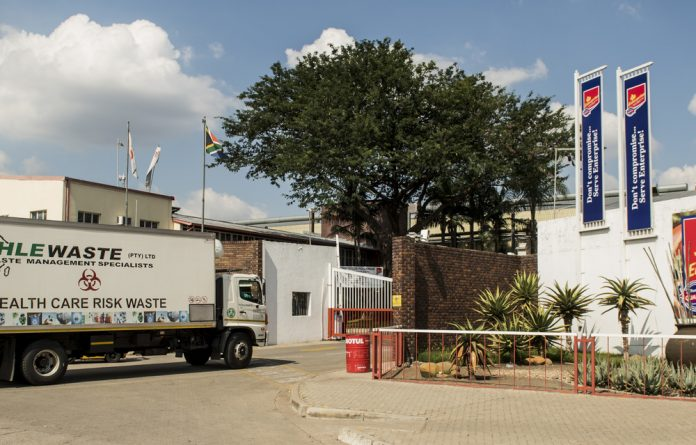 Cleaning operations are underway at the Enterprise plant after a listeriosis outbreak on March 10