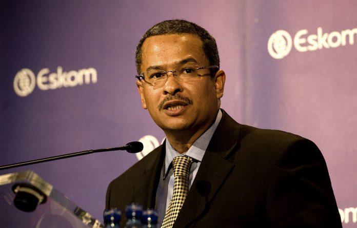 Eskom chief executive Brian Dames.