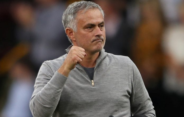 In the match I'm not looking at the sky, unless I'm asking for the guy to give me help! joked Jose Mourinho.