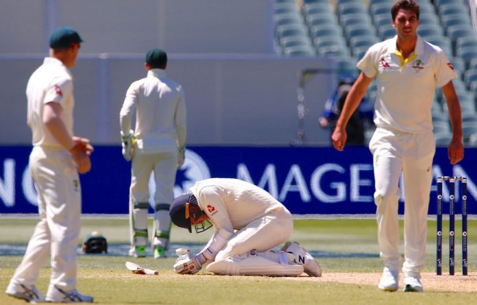 Smith and Marsh dominated the flagging England attack to put on an unbroken stand of 301 for the fifth wicket without even offering a single chance.