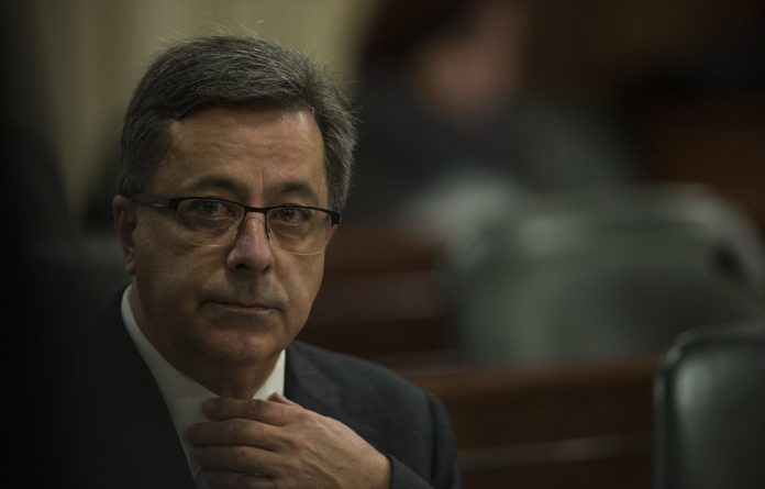 """Markus Jooste also denied that his admission that he made a """"big mistake"""" to staff in an SMS was about any criminal involvement on his part in the share collapse."""