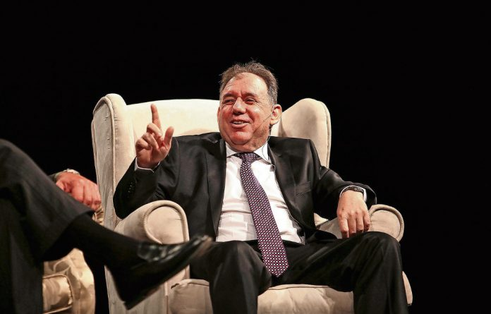 Straight talker: Investec's Stephen Koseff warned against populist phrases such as 'white monopoly capital' on the sidelines of the ANC policy conference.