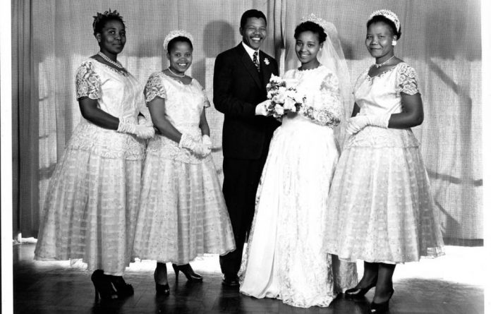Nelson Mandela married Winnie Madikizela in 1958. They had two children together.