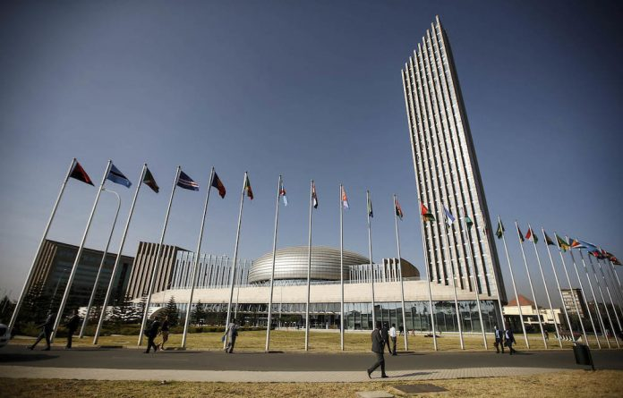 The summit at AU headquarters in Addis Ababa adopted a strategy to withdraw from the ICC.