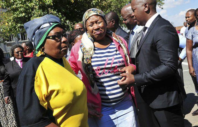 Under pressure: Mzwandile Masina