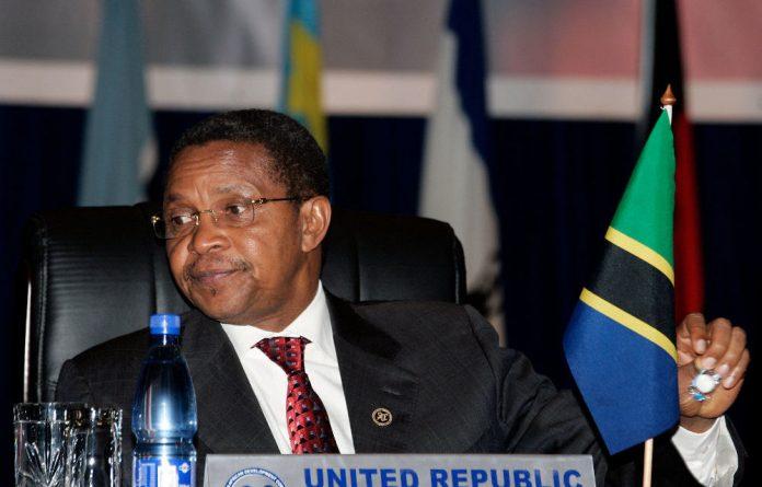 Tanzania's President Jakaya Kikwete.