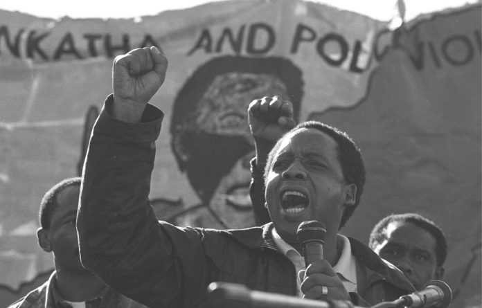 Chris Hani was shot dead in the driveway of his home in 1993.