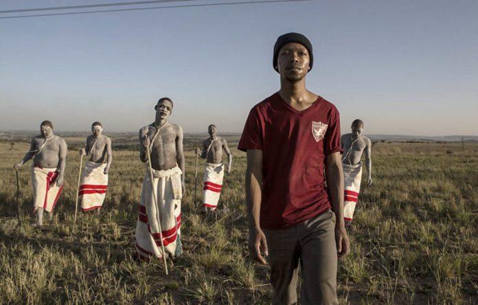 Nakhane Touré stars in  'Inxeba - The Wound'.