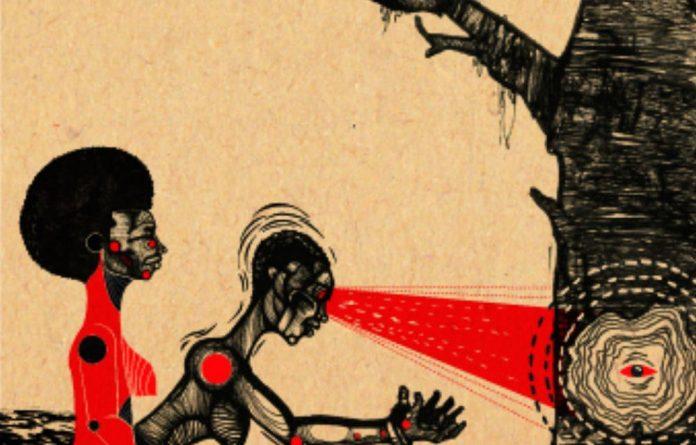 Mzwandile Buthelezi's work has graced album covers of jazz artists Thandi Ntuli's The Offering