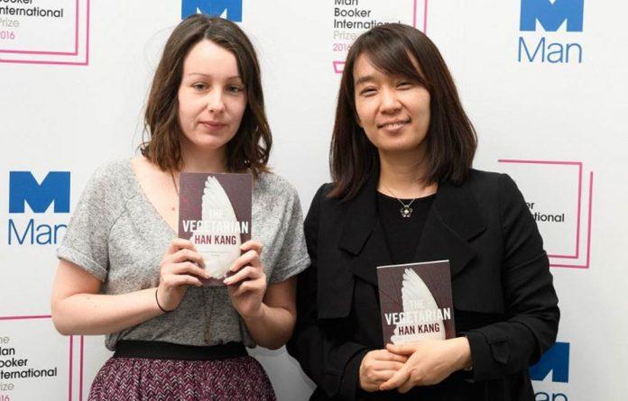 Author Han Kang and translator Deborah Smith