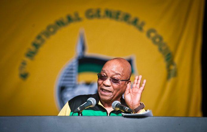 Jacob Zuma at the ANC NGC in October.