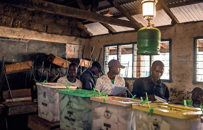 Kenyans placed their vote on August 8