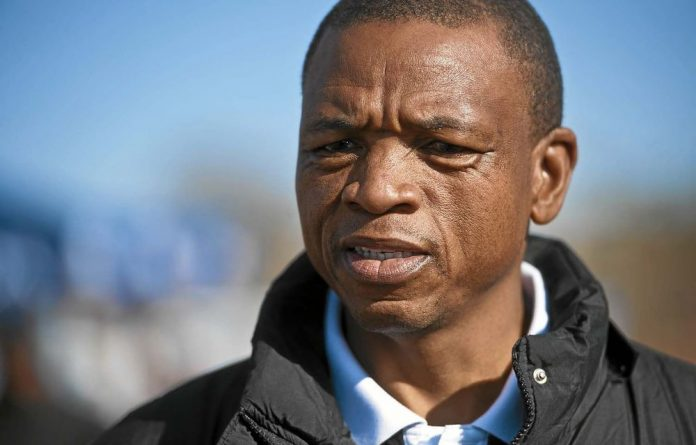Supra Mahumapelo is accused of spending state funds to launch his gospel CD in Sun City last year.