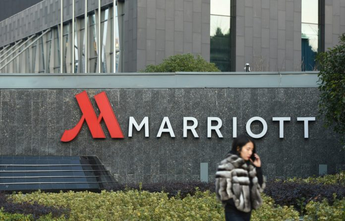 US suspicions of Chinese involvement in the Marriott theft come amid heightened rivalry between the two countries over trade