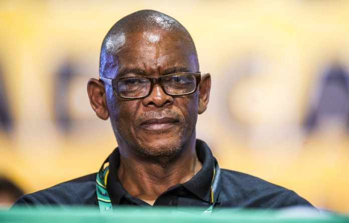 Order: ANC secretary general Ace Magashule's report on auditing party membership is expected to be ratified. Photo: Delwyn Verasamy