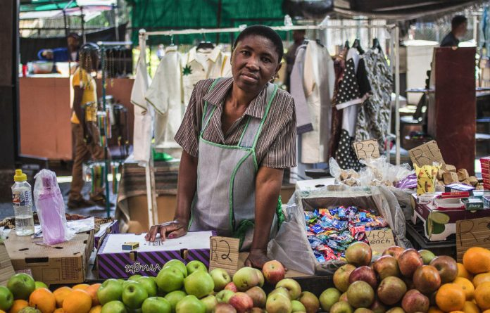 The expansion of microcredit and the informal microenterprise sector was one of the policy responses of the first democratically elected government.
