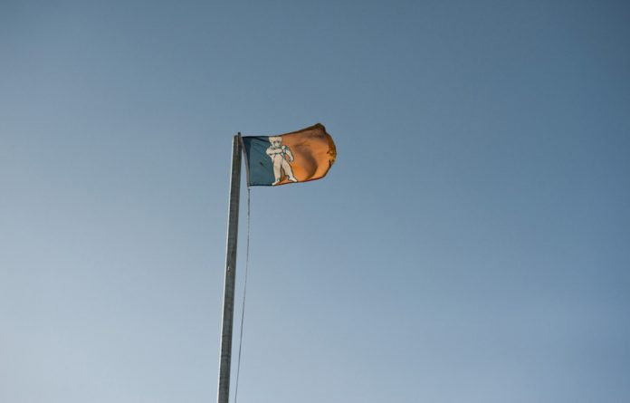 Flying the flag: Residents of Orania can