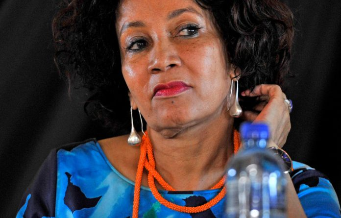 Maite Nkoana-Mashabane discusses her first term as international relations minister