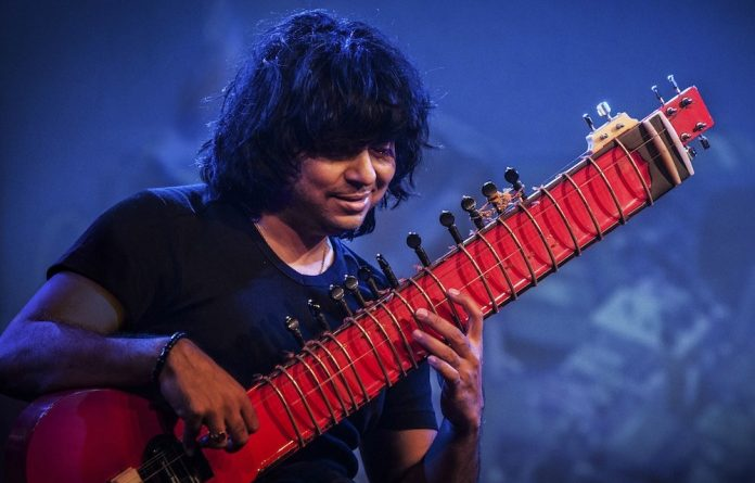 Gifted: Niladri Kumar continues the ancient tradition of Indian classical music.