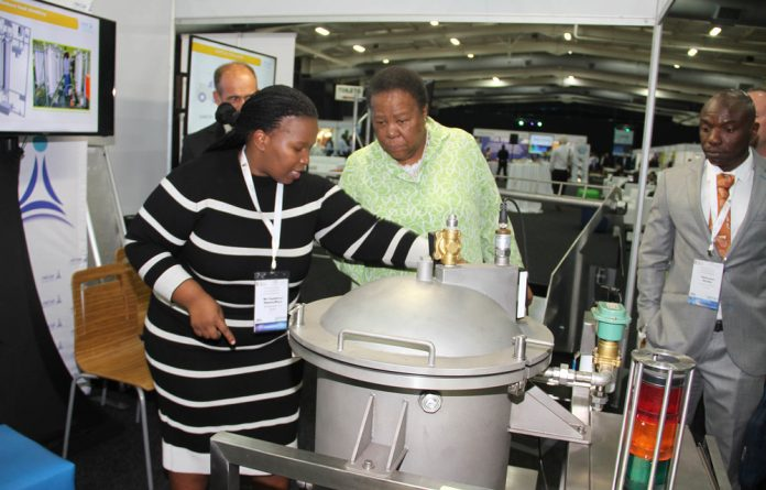 Minister of Science and Technology Naledi Pandor stressed that new ideas must be seized upon and sustainably developed.