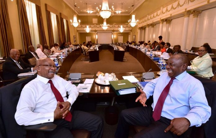 President Jacob Zuma isn't blinking despite suffering another resounding loss in the Constitutional Court.