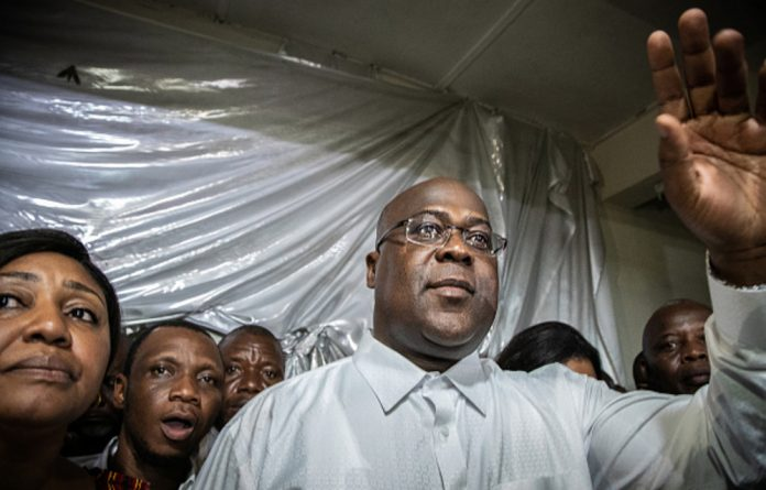 Felix Tshisekedi has promised the return of the rule of law to the DRC