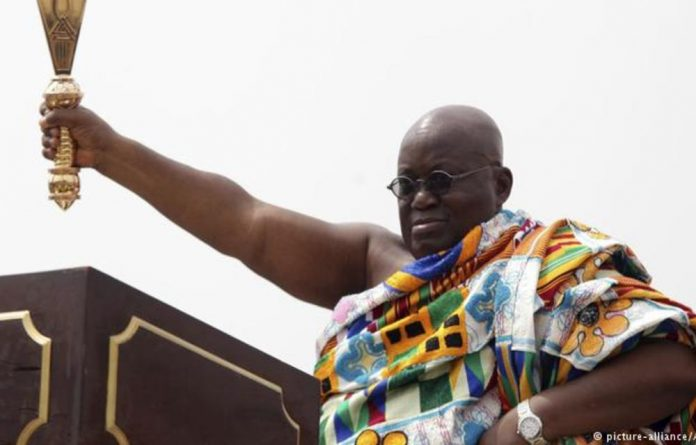 Ghanian President Nana Akufo-Addo  has taken over a debt crisis from his predecessor which could cast a shadow over his term.