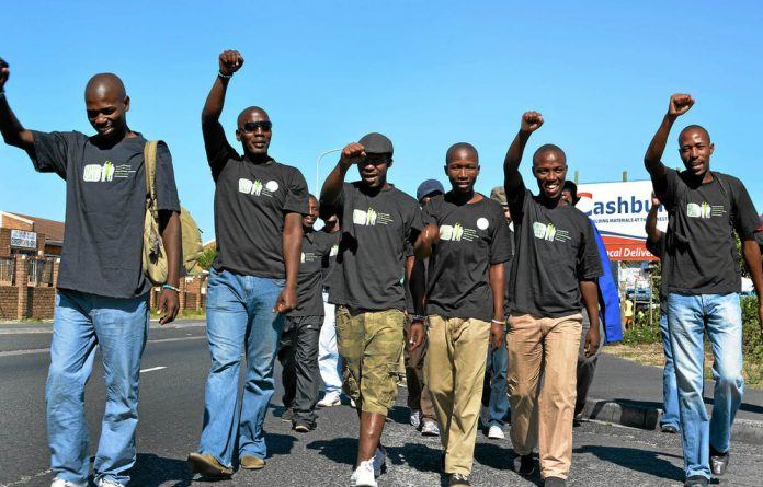 Sonke's One Man Can campaign mobilizes men to prevent gender-based violence