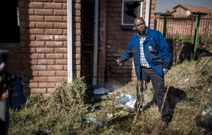 Snatched: Hijacking buildings usually involves criminals controlling rent collection. Jo'burg's mayor Herman Mashaba has embarked on a campaign to resolve the problem.