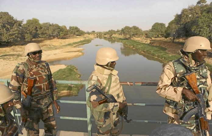 Winning the war: The Nigerian army has successfully held back Boko Haram to the extent that the country was able to hold relatively peaceful presidential elections last month.