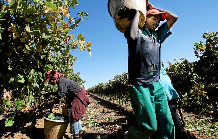 The average salary of previously disadvantaged employees at Solms-Delta is not R100 a day; it is R219 a day