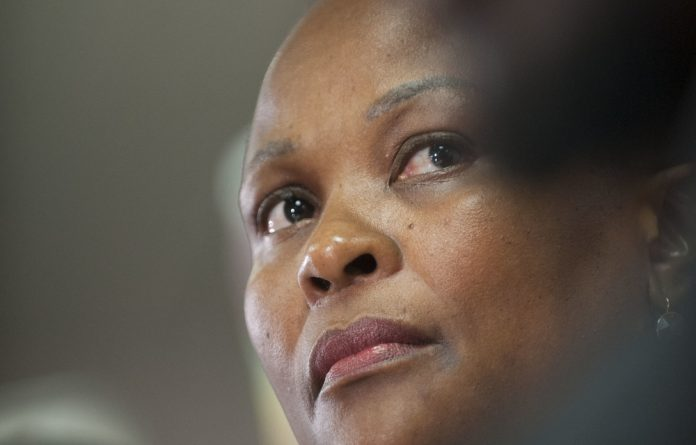 In February the North Gauteng High Court found that Mkhwebane must pay the money to the central bank in her personal capacity