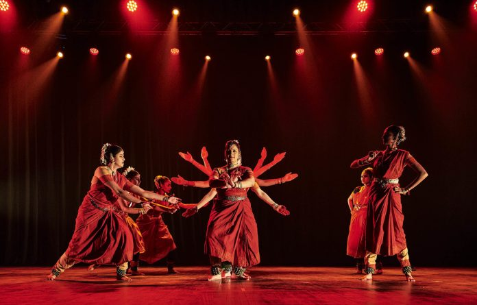Subversion: 'Shree: I am Shakti' uses a traditional Indian dance form with a South African take to convey views on social issues such as femininity. Photo: Anthea Pokroy Photography
